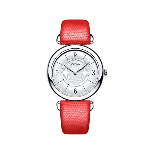 Женские серебряные часы (105.30.00.000.03.03.2) - фото №2