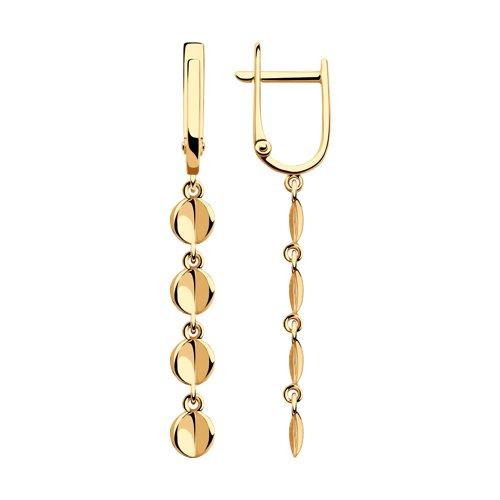 Серьги из золота (028574) - фото