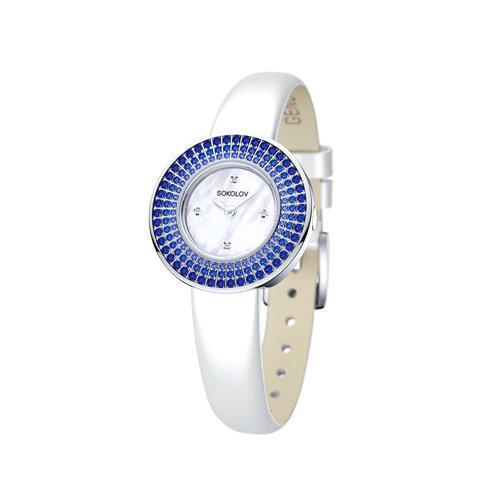 Женские серебряные часы (128.30.00.007.01.02.2) - фото
