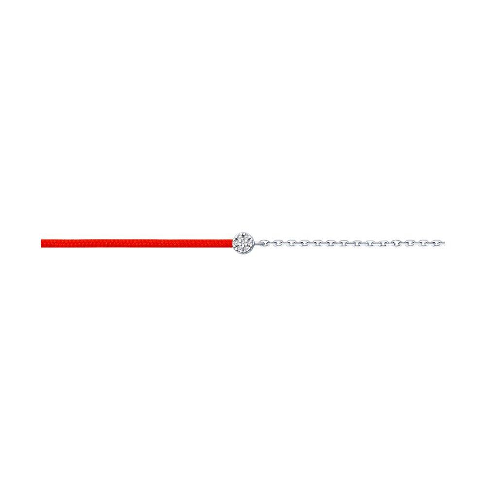Браслет с серебром и фианитами SOKOLOV повязка атрауман с серебром 10 х 10 см n 10