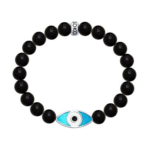 Браслет «Глаз» с обсидианом (8510500018) - фото