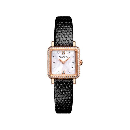 Женские золотые часы (232.01.00.100.05.01.2) - фото №2