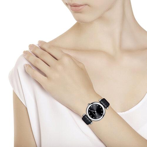 Женские серебряные часы (105.30.00.000.07.01.2) - фото №3