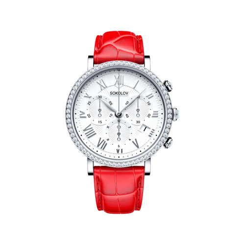 Женские серебряные часы (127.30.00.001.01.03.2) - фото №2