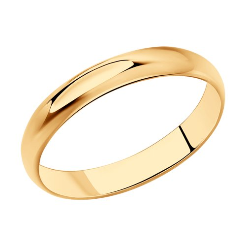 Венчальное кольцо из серебра