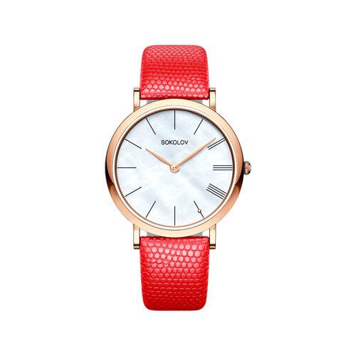 Женские золотые часы (204.01.00.000.02.04.2) - фото №2