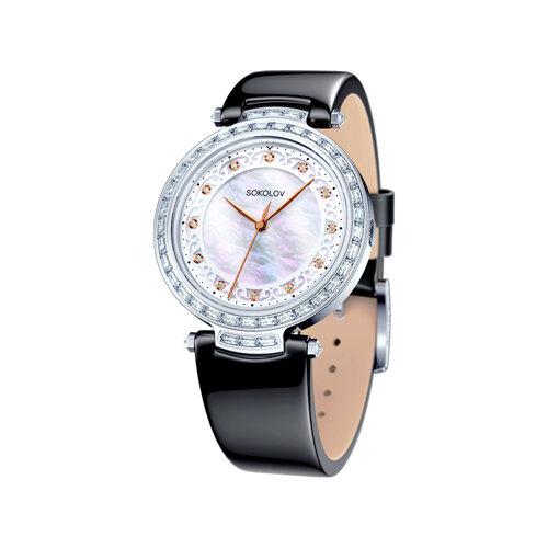 Женские серебряные часы (147.30.00.001.03.03.2) - фото