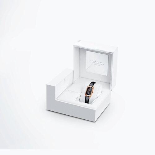 Женские золотые часы (222.01.00.100.06.01.3) - фото №4