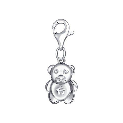 плюшевый мишка боня Подвеска на браслет «Плюшевый мишка» SOKOLOV