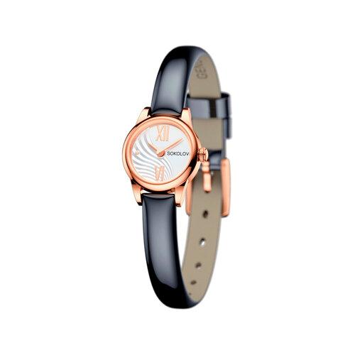 Женские золотые часы (211.01.00.000.04.05.3) - фото