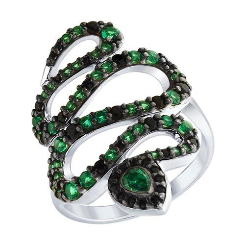 Кольцо «Змея» (94012581) - фото