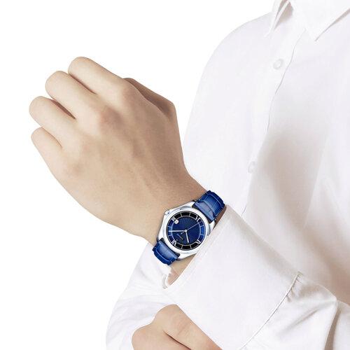 Мужские серебряные часы (135.30.00.000.03.02.3) - фото №3