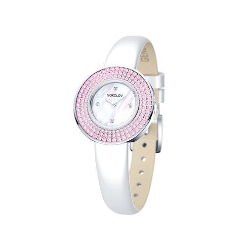 Женские серебряные часы (128.30.00.002.01.02.2) - фото