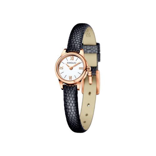 Женские золотые часы (211.01.00.000.01.01.3) - фото