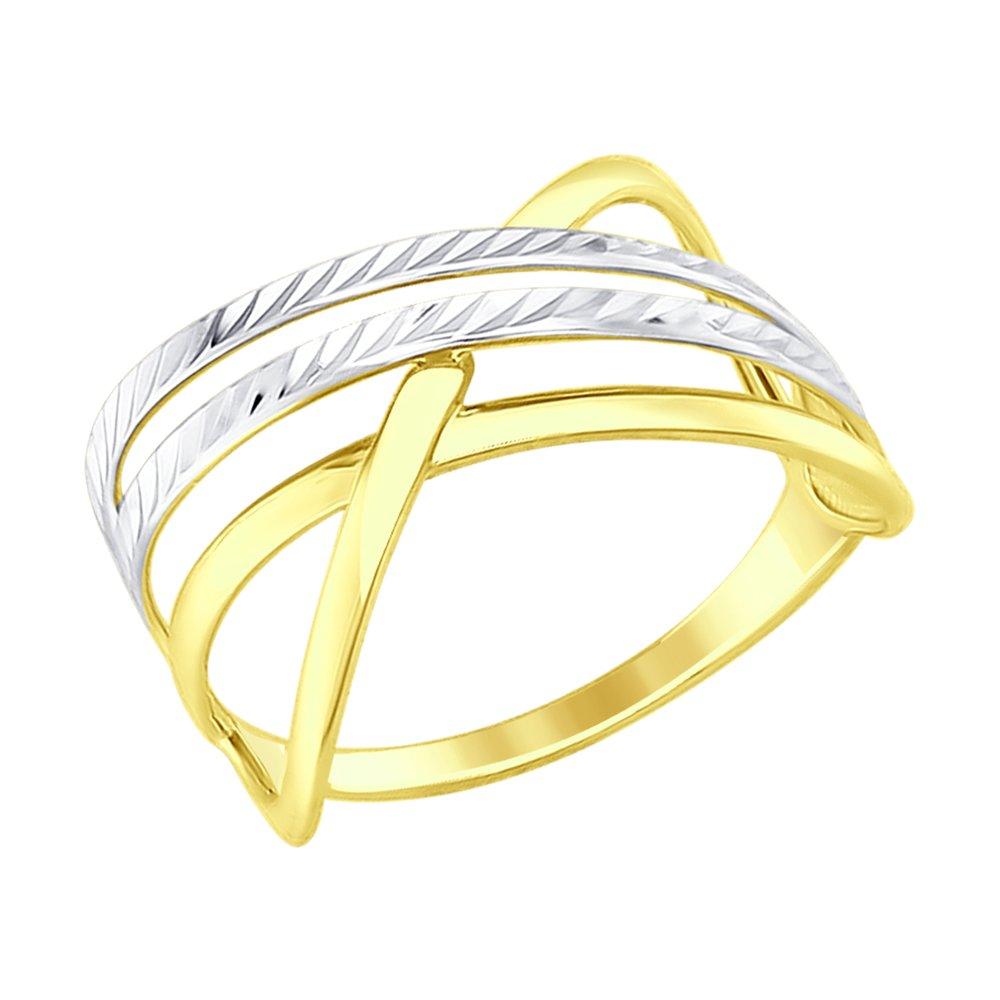 Кольцо SOKOLOV из желтого золота с алмазной гранью кольцо sokolov из золота с алмазной гранью