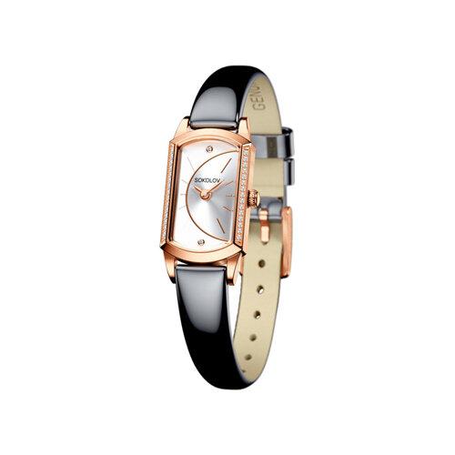 Женские золотые часы (222.01.00.100.04.05.3) - фото