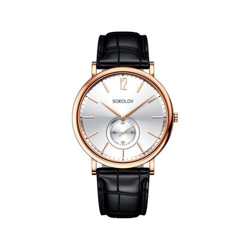 Мужские золотые часы (209.01.00.000.03.01.3) - фото №2