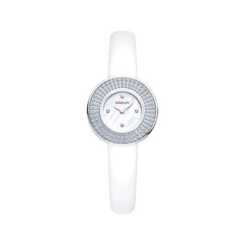 Женские серебряные часы (128.30.00.001.01.02.2) - фото №2