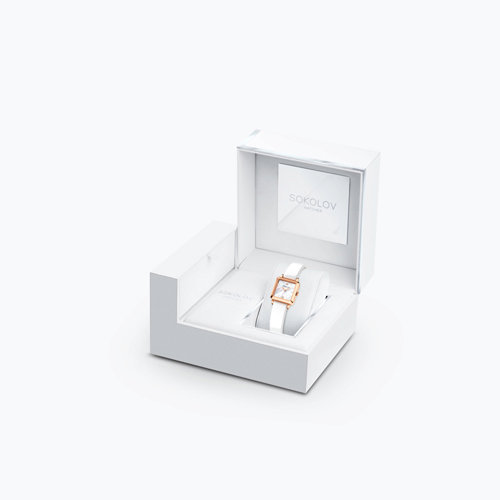Женские золотые часы (231.01.00.000.05.05.2) - фото №4