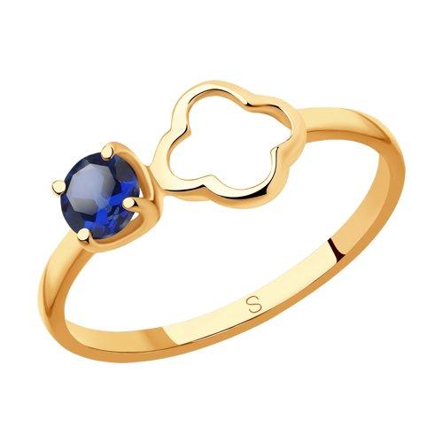 Кольцо из золота (715902) - фото
