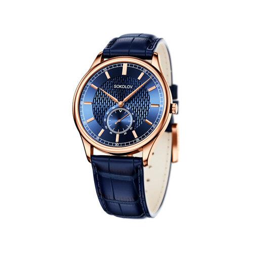 Мужские золотые часы (237.01.00.000.07.04.3) - фото
