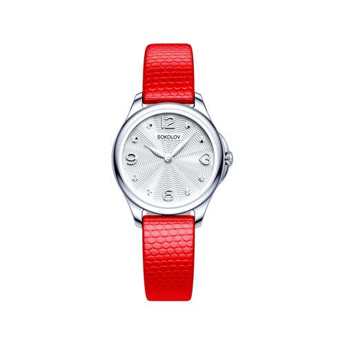 Женские серебряные часы (136.30.00.000.01.03.2) - фото №2