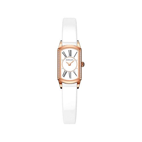 Женские золотые часы (222.01.00.001.01.06.3) - фото №2