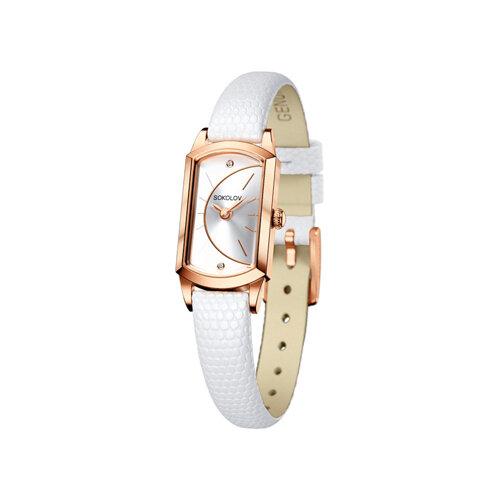 Женские золотые часы (221.01.00.000.04.02.3) - фото