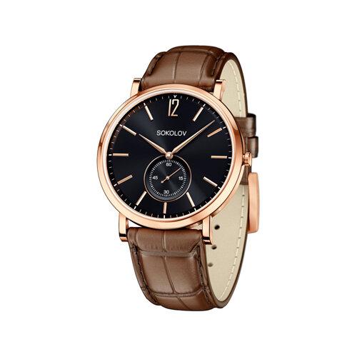 Мужские золотые часы (209.01.00.000.05.03.3) - фото