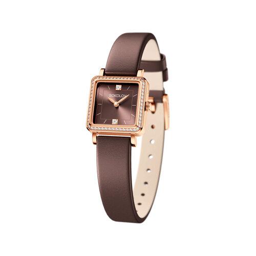 Женские золотые часы (232.01.00.100.08.08.2) - фото