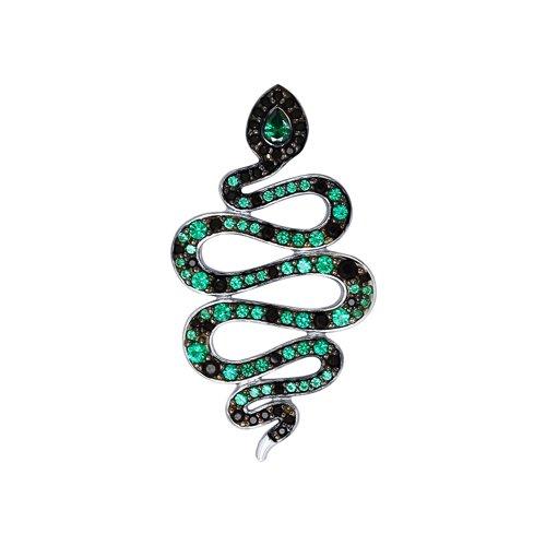 Подвеска «Змея» из серебра