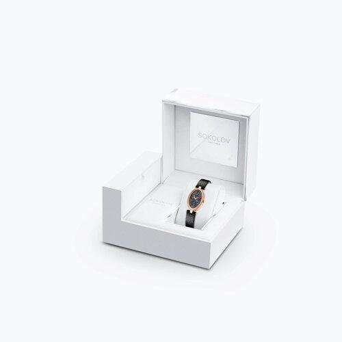 Женские золотые часы (236.01.00.100.04.01.2) - фото №4