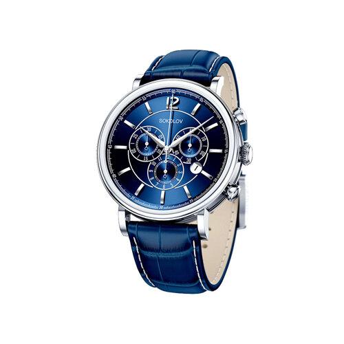 Мужские серебряные часы (125.30.00.000.05.03.3) - фото