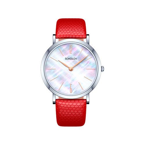 Женские серебряные часы (152.30.00.000.06.04.2) - фото №2