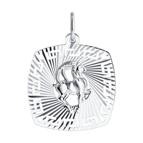 Подвеска «Знак зодиака Козерог» SOKOLOV из серебра win 02 10зеркало серебр знак зодиака козерог