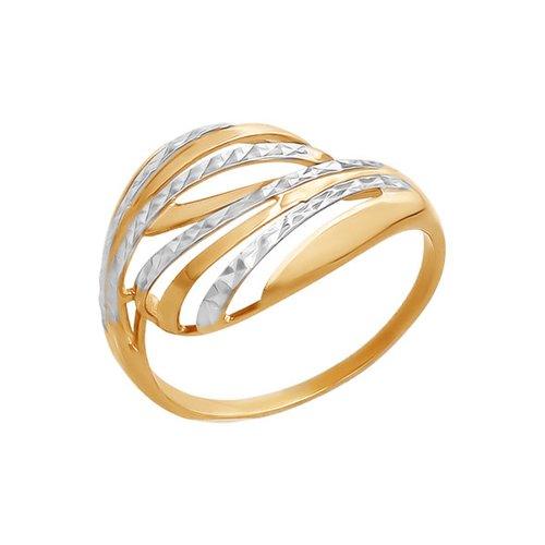 Фото - Кольцо SOKOLOV из золота с алмазной гранью кольцо sokolov из золота линии с алмазной гранью