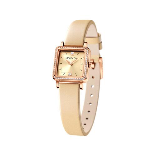 Женские золотые часы (232.01.00.100.06.09.2) - фото