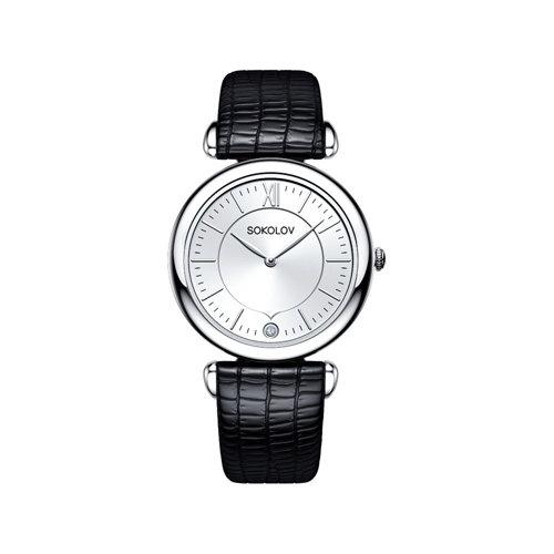 Женские серебряные часы (105.30.00.000.01.01.2) - фото №2
