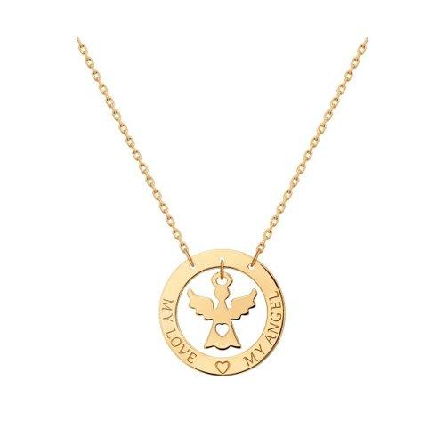 Колье «Ангел» из золота