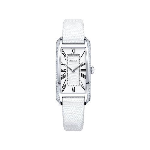 Женские серебряные часы (119.30.00.001.01.02.2) - фото №2