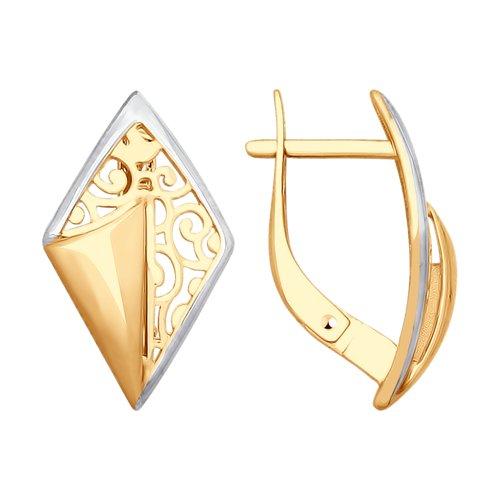 Серьги из золота (027746) - фото