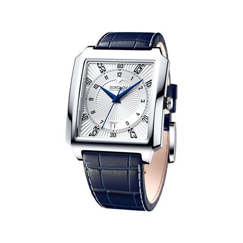 Мужские серебряные часы (134.30.00.000.08.02.3) - фото