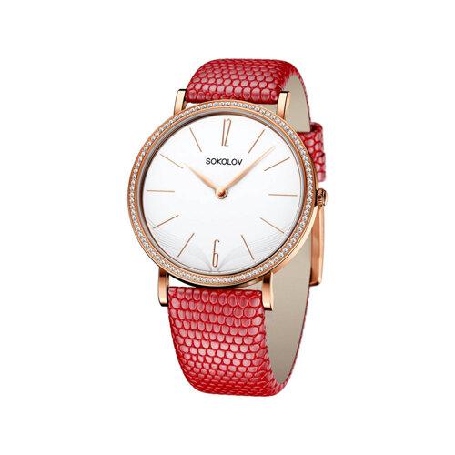 Женские золотые часы (210.01.00.001.05.04.2) - фото