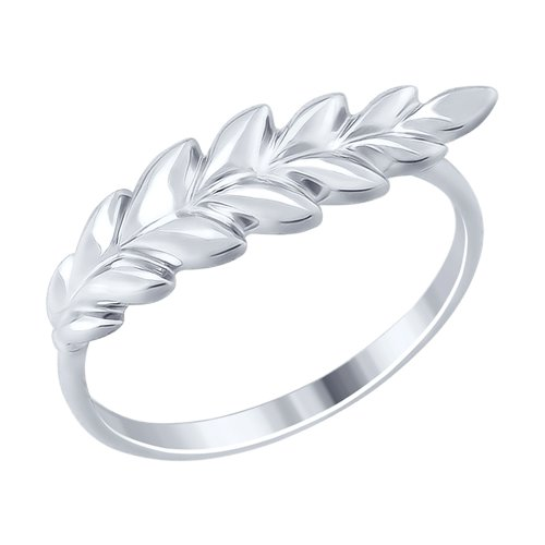 Кольцо из серебра (94012481) - фото