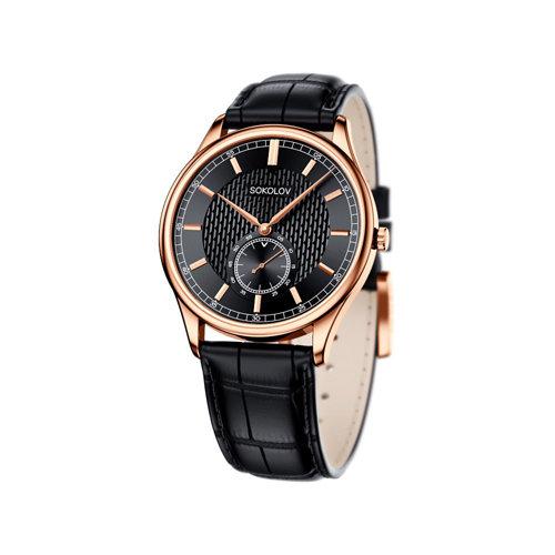 Мужские золотые часы (237.01.00.000.05.01.3) - фото