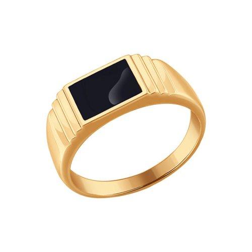 Фото - Печатка SOKOLOV из золота с эмалью печатка sokolov из золота с эмалью с фианитами