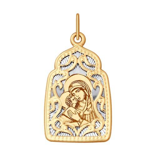 Икона с ликом Владимирской Божией Матери
