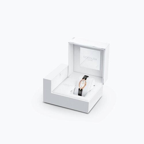 Женские золотые часы (236.01.00.100.01.01.2) - фото №4