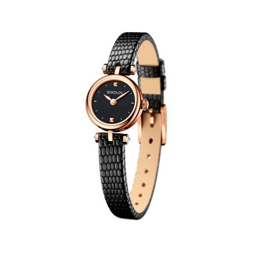 Женские золотые часы (215.01.00.000.02.01.2) - фото