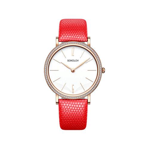 Женские золотые часы (210.01.00.001.05.04.2) - фото №2